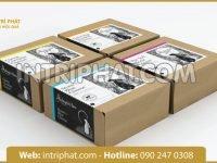 Lĩnh vực nào sử dụng in hộp giấy làm bao bì sản phẩm