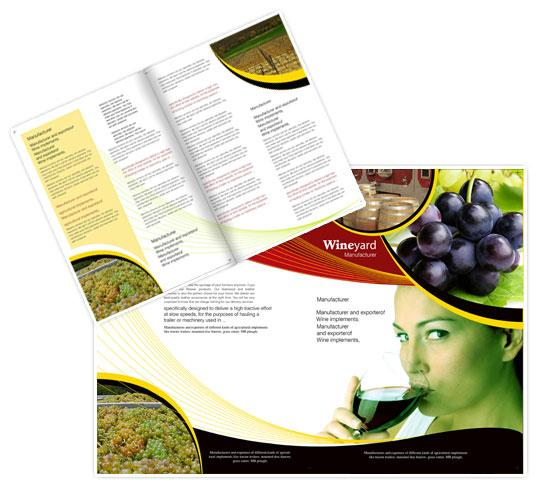 Mẫu brochure tiếp thị
