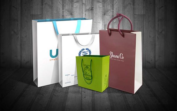 in túi giấy thân thiện với môi trường