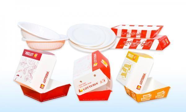 In hộp giấy đựng thực phẩm đẹp