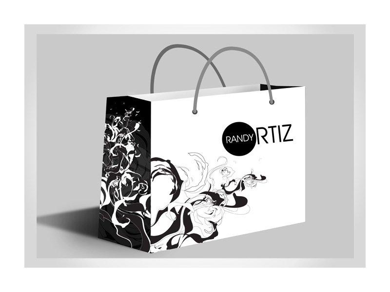 hình ảnh túi giấy cho shop thời trang