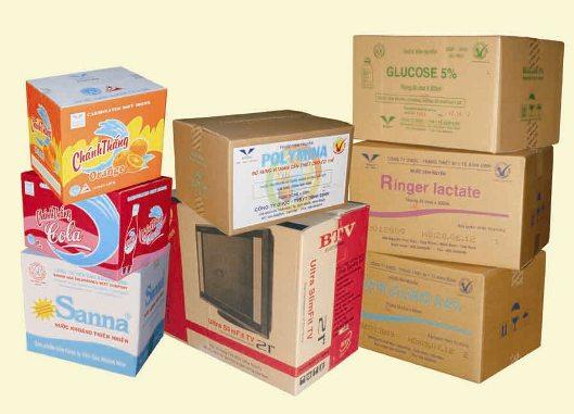 Mẫu in thùng carton giá rẻ