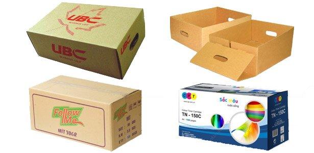 Mẫu in thùng carton tại tphcm
