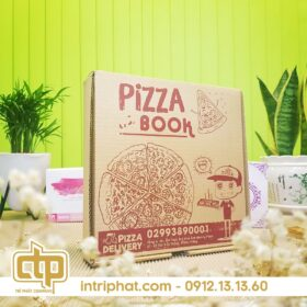in hộp pizza hcm