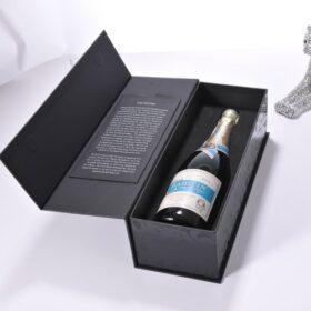 in hộp giấy đựng rượu đẹp