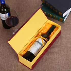 in hộp giấy đựng rượu