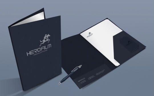 Mẫu thiết kế folder đẹp
