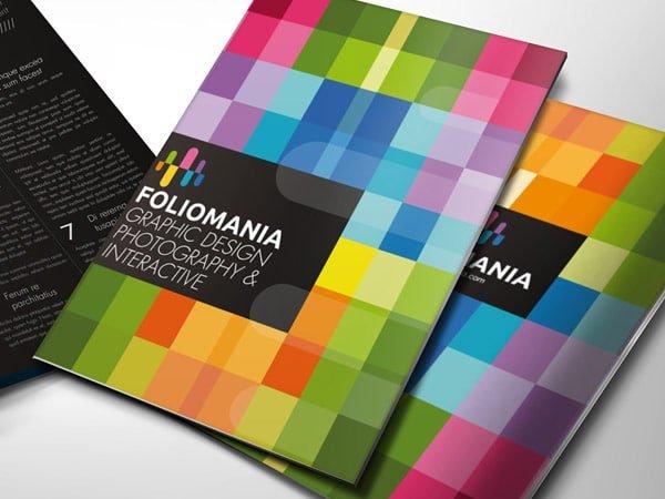 Các mẫu brochure độc đáo, ấn tượng