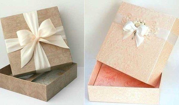 Thiết kế hộp giấy đựng quà dễ thương