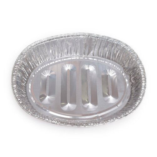 Khay giấy bạc sử dụng phổ biến trong nhà hàng, tiệm ăn