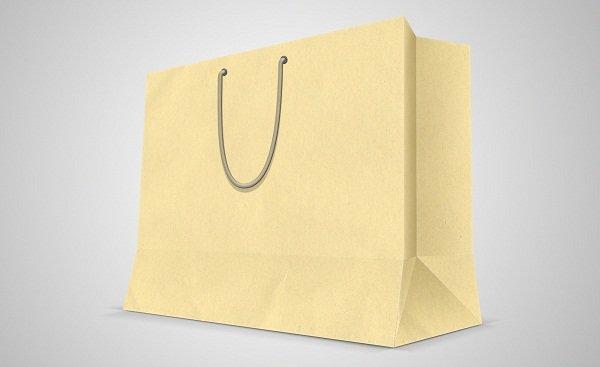 In túi giấy trơn số lượng lớn, giá rẻ