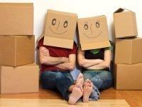 In thùng carton sử dụng cho dịch vụ chuyển nhà