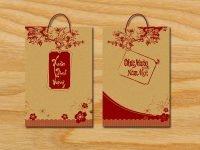 Tri ân khách hàng bằng cách in túi giấy đựng quà tết