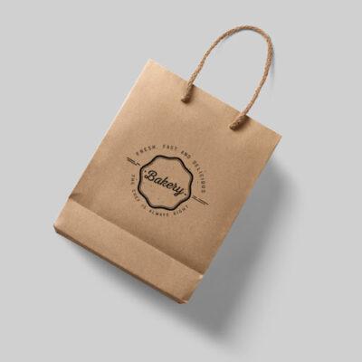 in túi giấy tái chế đẹp giá rẻ