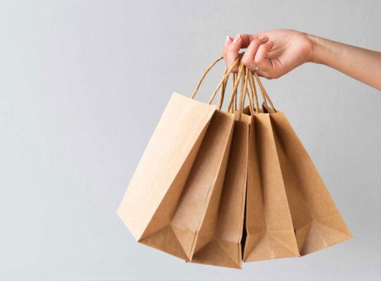 in túi giấy tái chế giá rẻ chất lượng