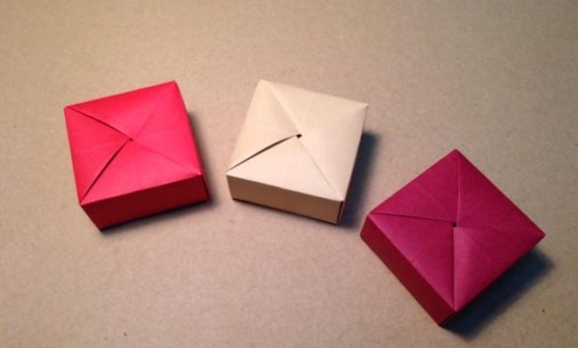 cách xếp hộp giấy