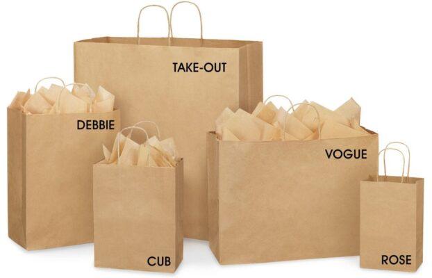 túi giấy tái chế giá rẻ