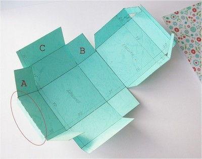 xếp hộp giấy đẹp