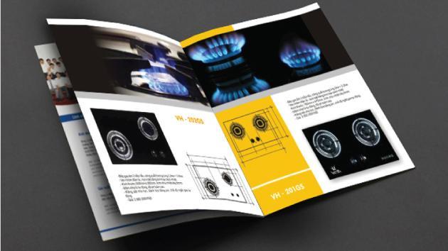 Mẫu in catalogue quảng cáo ô tô cho doanh nghiệp