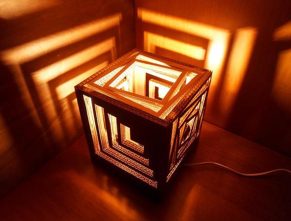 Làm hộp giấy đựng đèn ngủ đẹp tại nhà