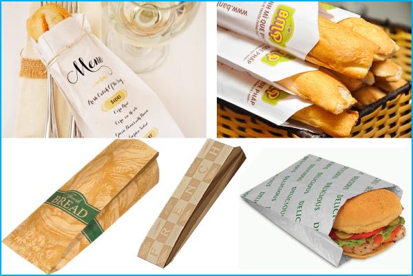 Mẫu in túi giấy đựng bánh mì ngon