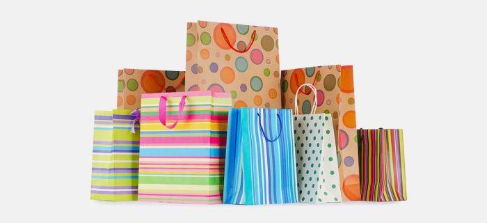 in túi giấy kraft cho shop thời trang