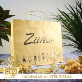 in túi giấy đẹp giá rẻ cho shop thời trang