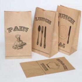 in túi giấy giá rẻ đựng thức ăn nhanh