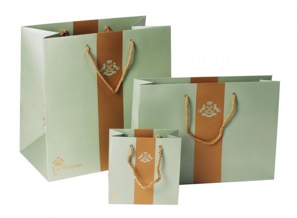 mẫu in túi giấy kraft cao cấp cho shop