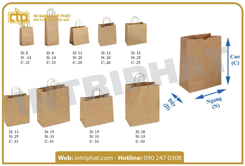 in túi giấy giá rẻ tại hcm