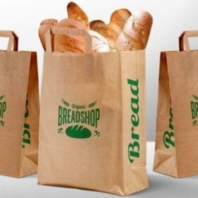 túi giấy giá rẻ đựng thức ăn