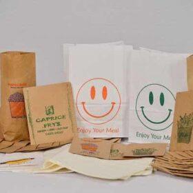 túi giấy giá rẻ đựng thức ăn nhanh