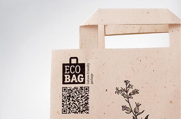 Mẫu in túi giấy ECOBAG độc đáo từ DEPOT WPF 1