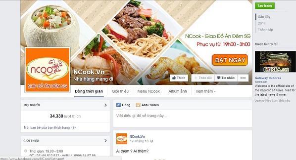 bán hàng ăn vặt trên facebook