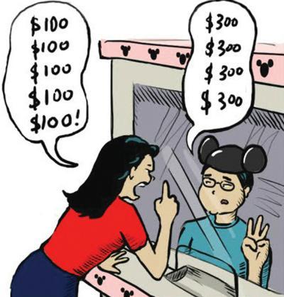 khách than phiền về giá
