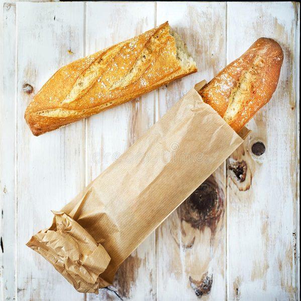 in túi giấy đựng bánh mì cao cấp