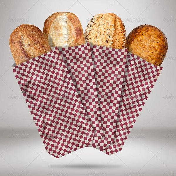 in túi giấy đựng bánh mì hcm