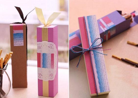 Ưu điểm của hộp đựng son handmade