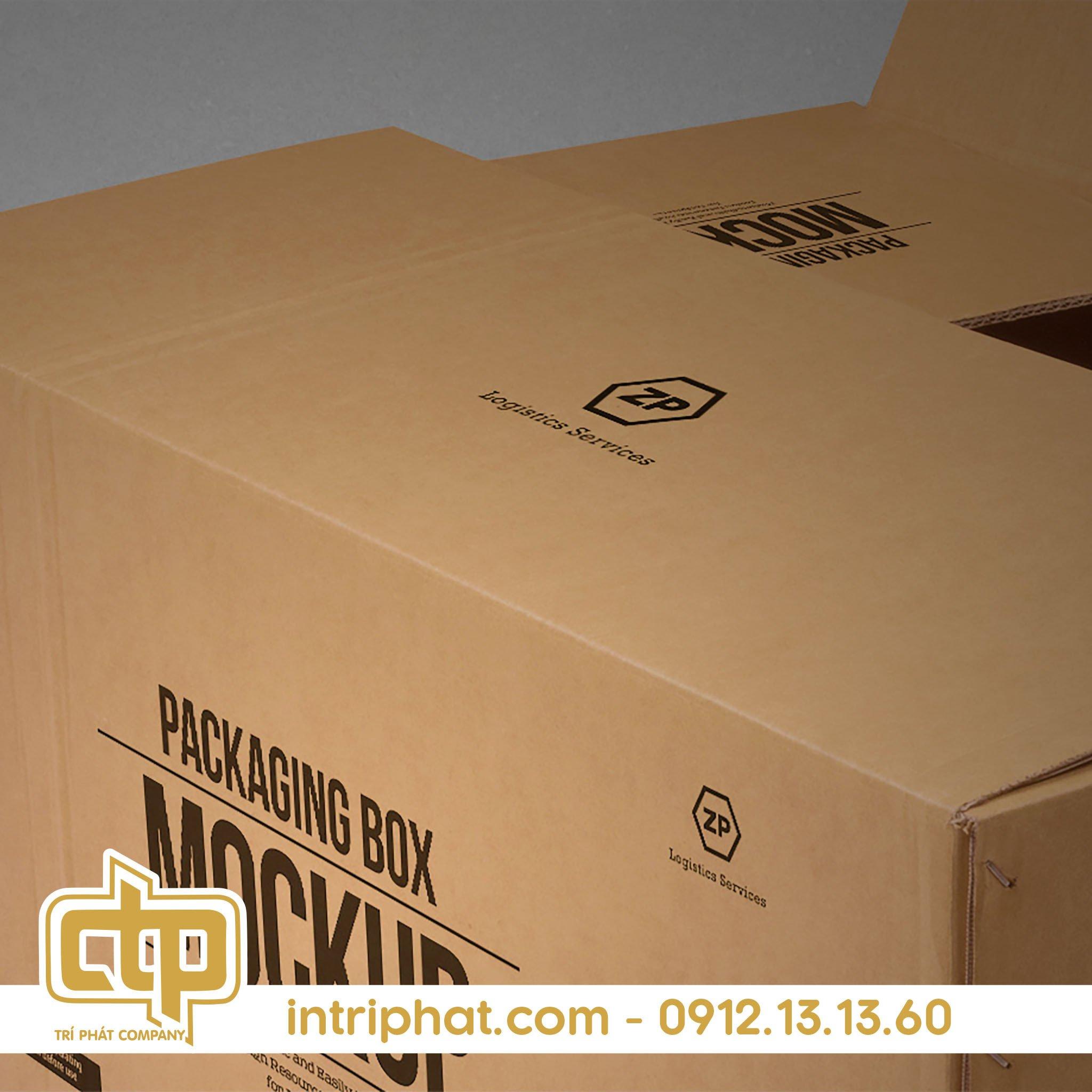 đơn vị sản xuất thùng carton tại Tân Phú