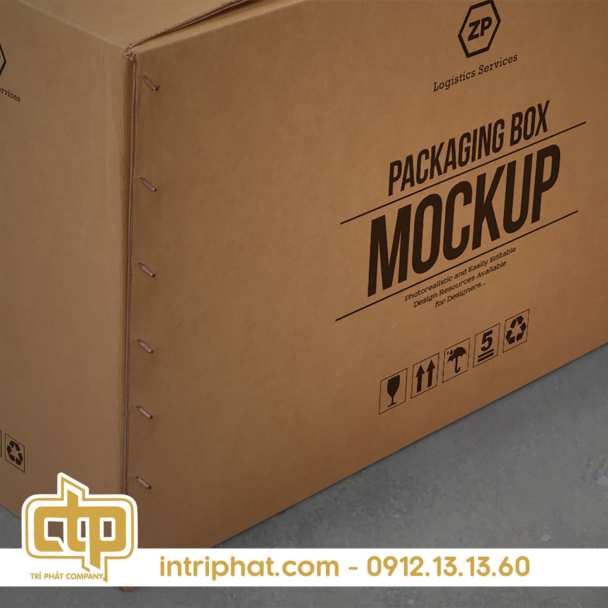 mẫu thùng carton đẹp tại In Bao Bì Trí Phát