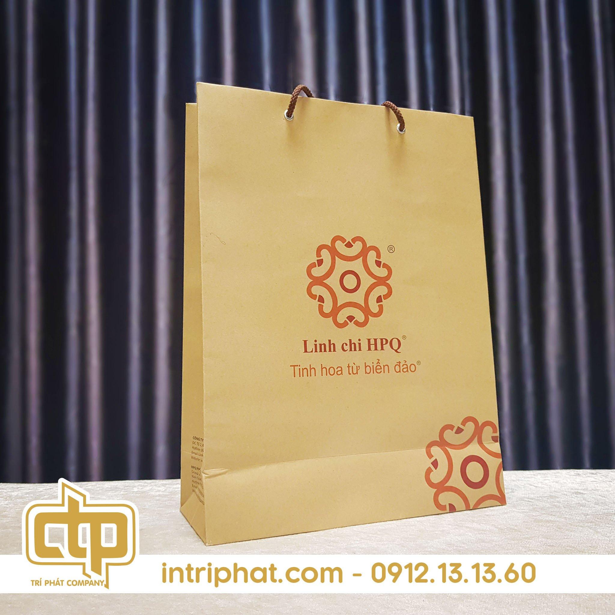 mẫu túi giấy kraft cho cửa hàng thời trang
