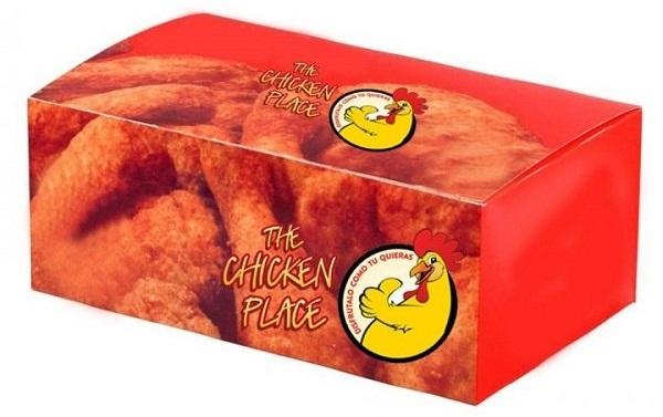 in hộp giấy giá rẻ đựng gà nướng