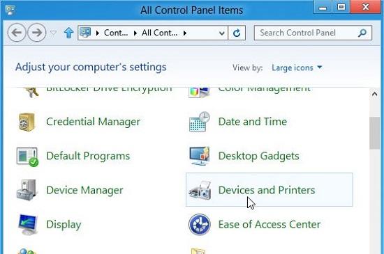 cách kết nối máy tính với máy in