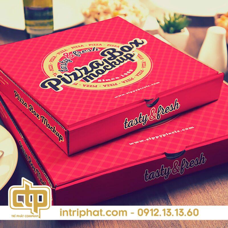 hộp bánh pizza
