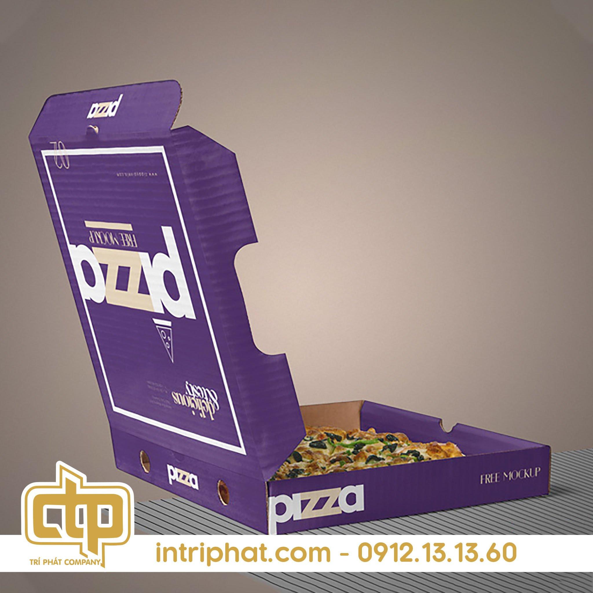 hộp bánh pizza chất lượng