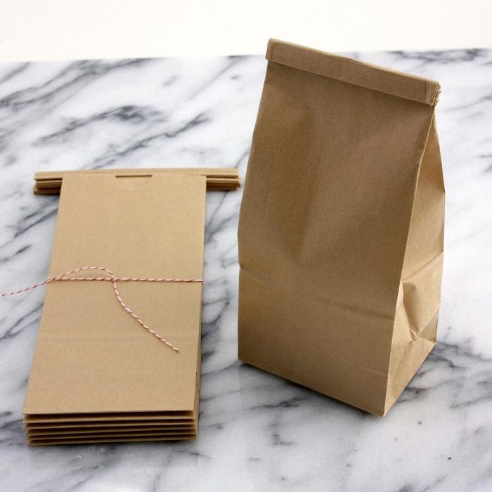 In túi xếp hông giấy kraft giá rẻ