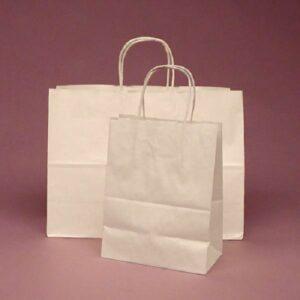 in túi giấy kraft trắng
