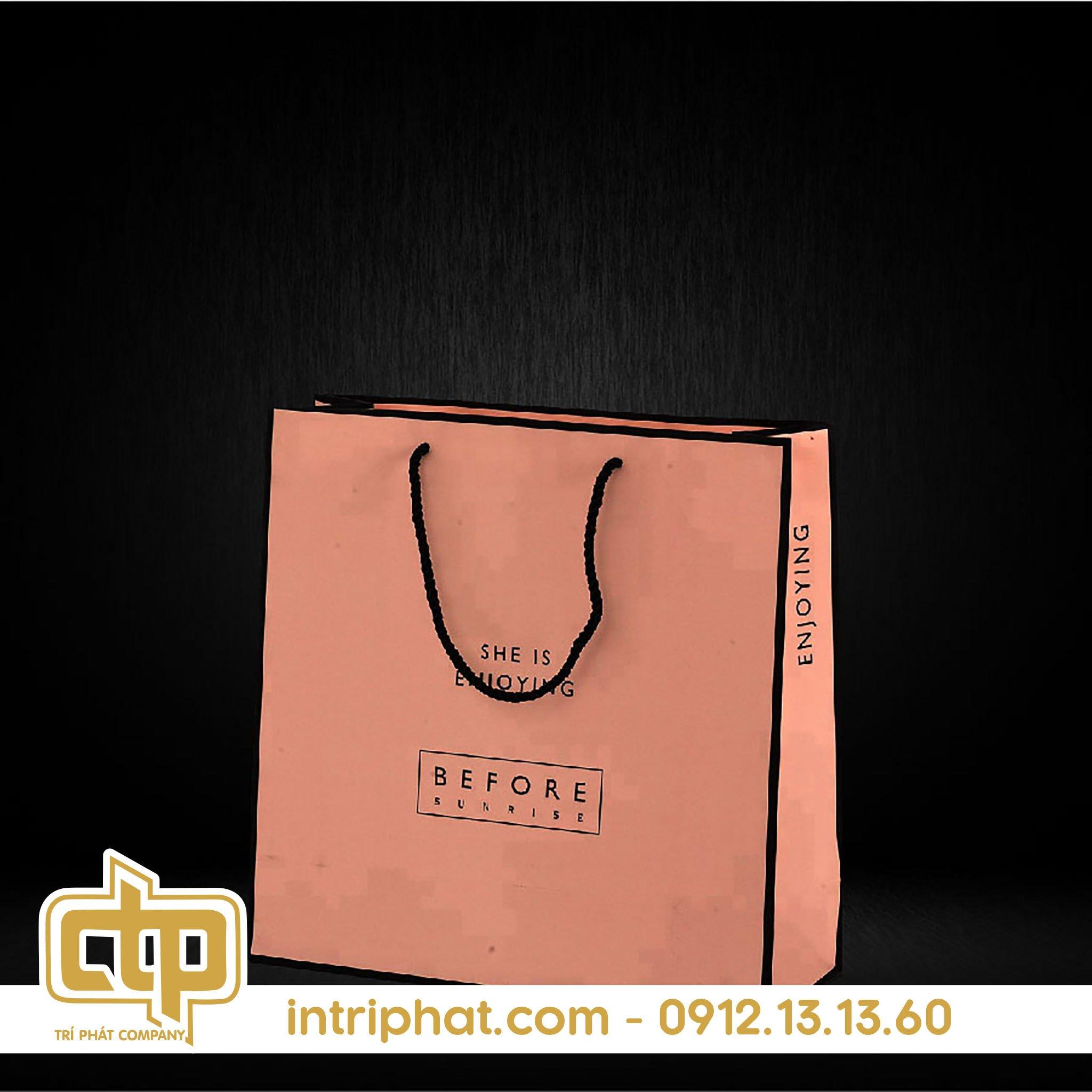 các mẫu túi giấy thời trang hcm