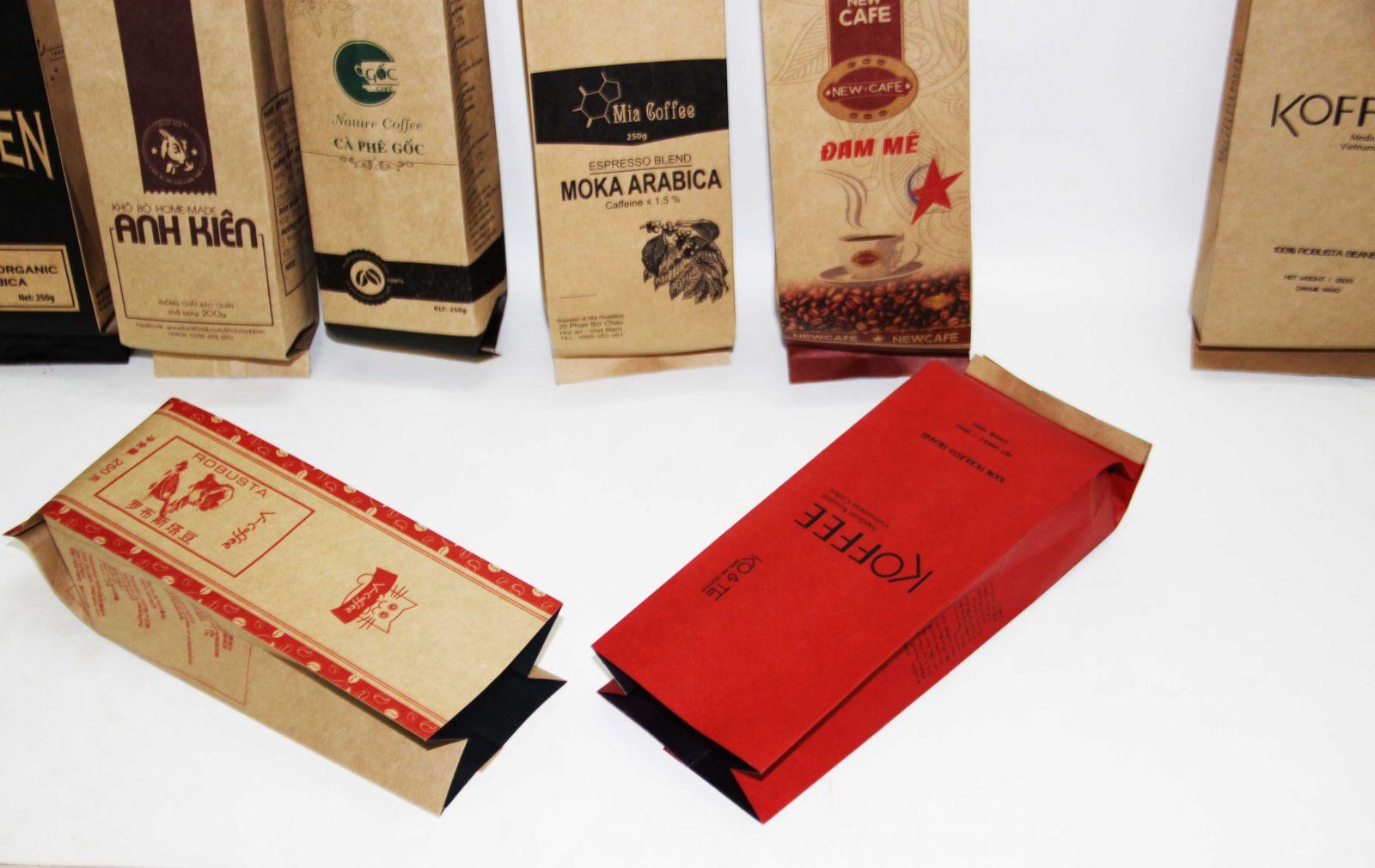 túi giấy đựng cà phê chất lượng