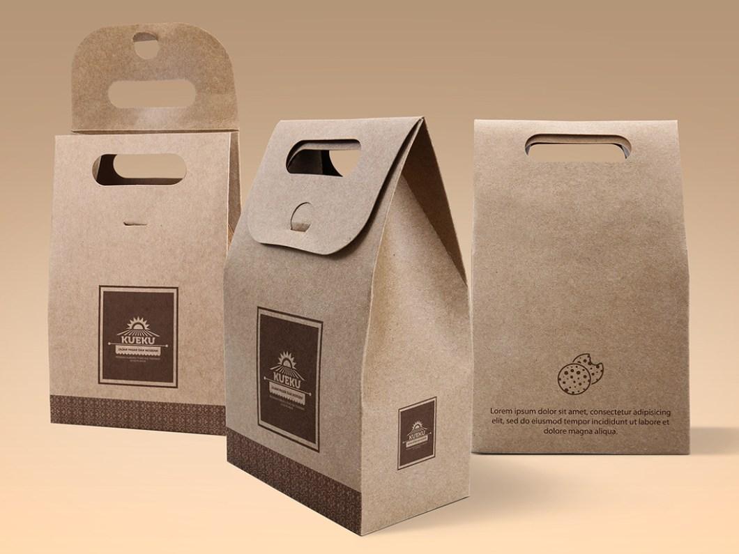 in túi giấy đựng cà phê